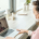 Expat is getting telemedicine service from a doctor remotely