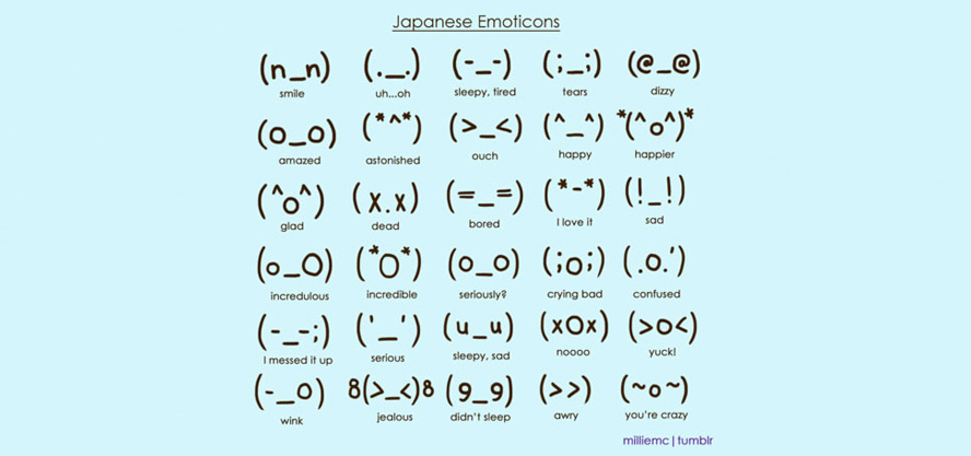 Kaomojis The World Of Japanese Emoticons Adk Insights