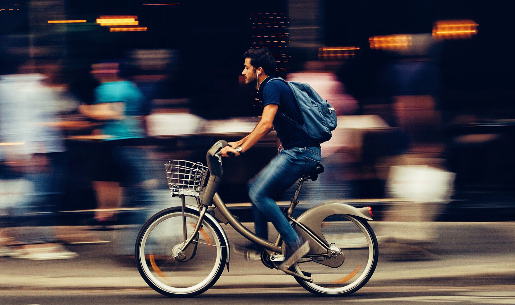 Shared mobility in a city