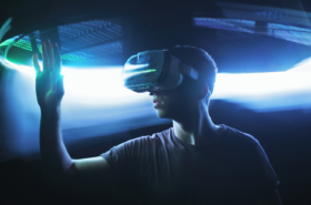Gaming with VR Headset