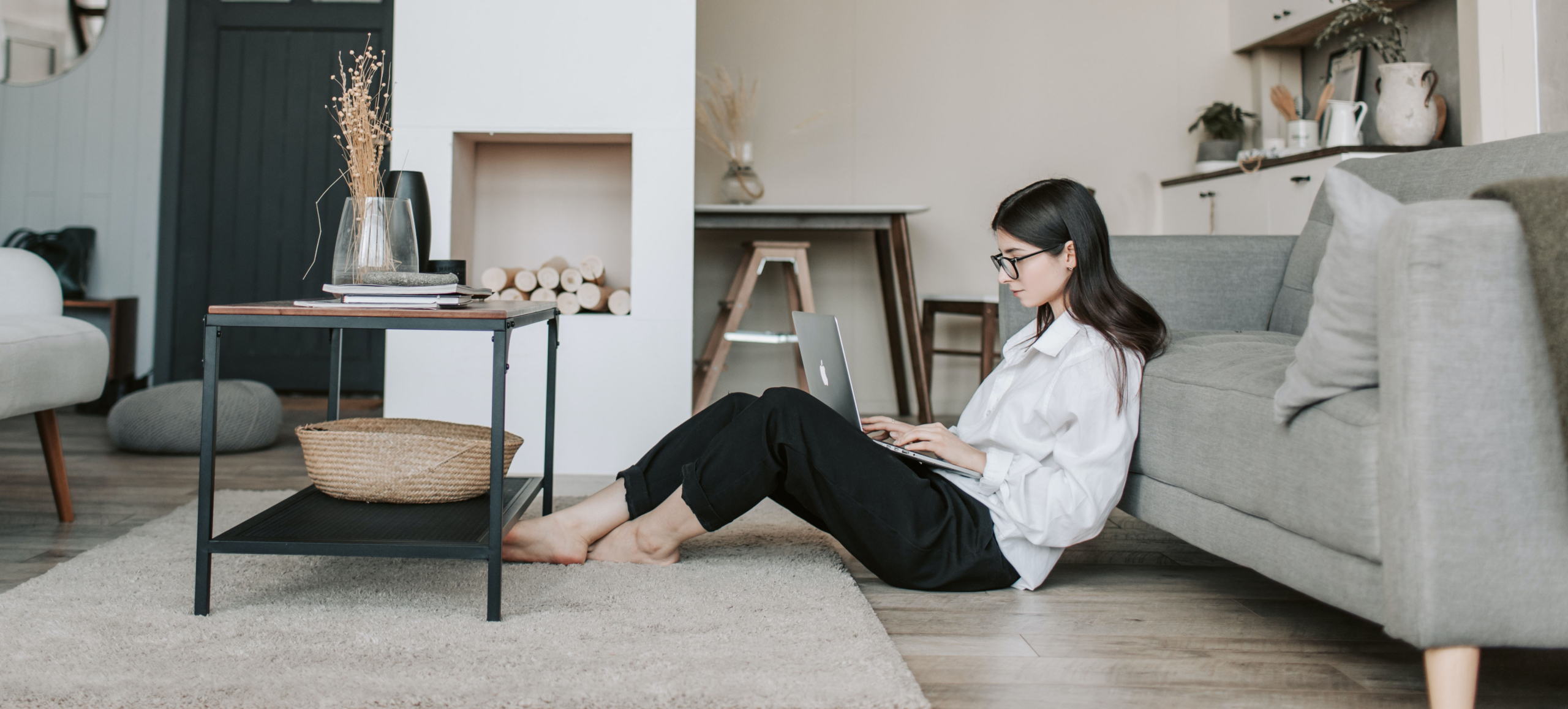 lounge wear with shirt as work from home COVID fashion